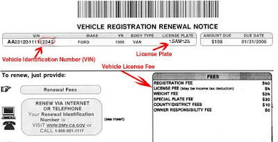 Have Not Received New Ca Car Registration Form