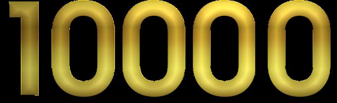 10000 visitações em 4 meses