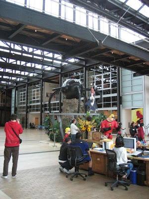 pixar studios. Inside Pixar Studio