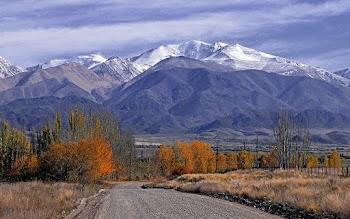 Cordillera de los Andes  Mendoza Argentina