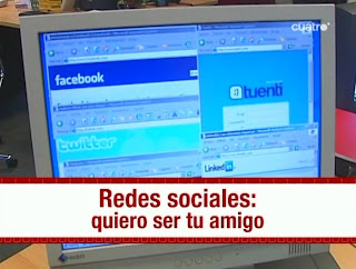 Redes sociales, quiero ser tu amigo