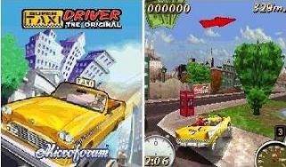 Super Taxi Driver Mobile Game