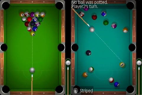 MicroPool 2007 is maybe the nicest pool game for Pocket PC devices