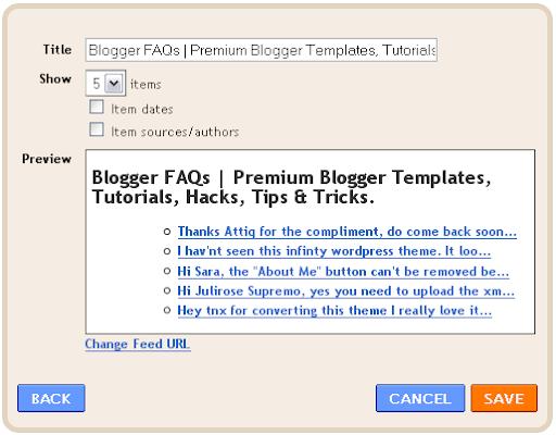How to Setup Recent Comments Widget