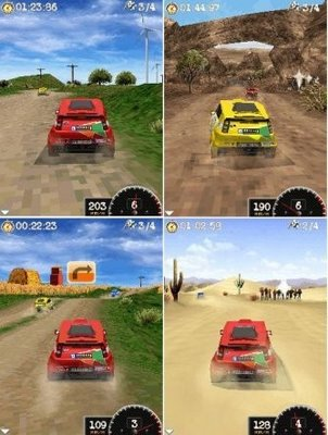 Dakar Rally 2010 Mobile Racing Game