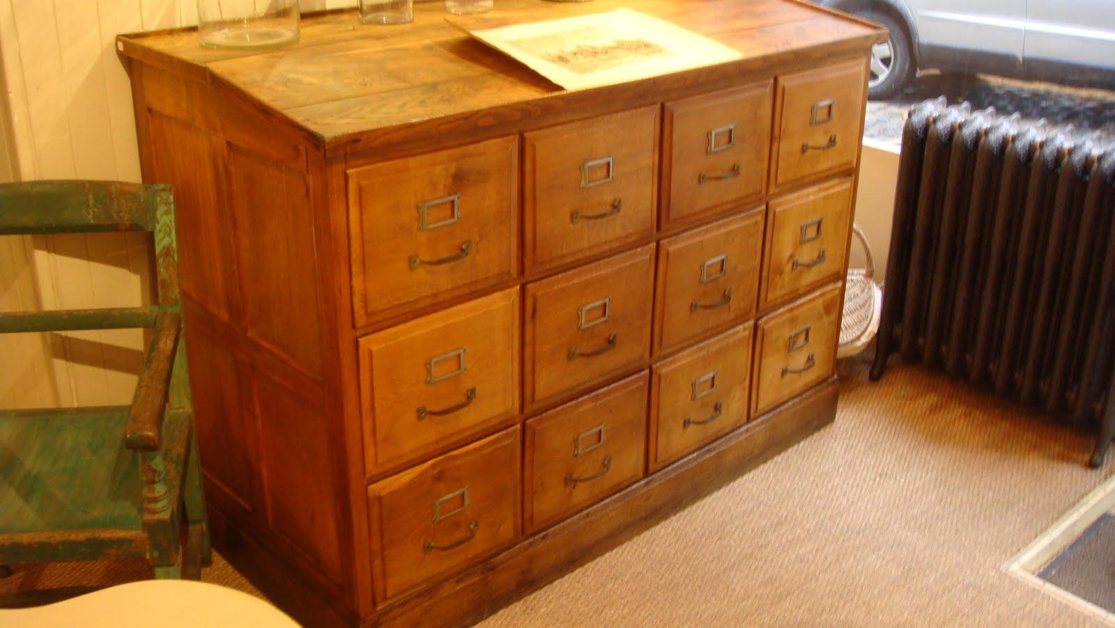 Fr d ric bianco d coration exceptionnel meuble de notaire for Bureau meuble notaire