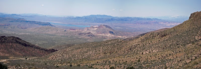 Lake Mead from Cabin Springs trail