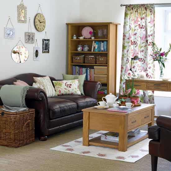Cute room living room for Vintage chic living room ideas