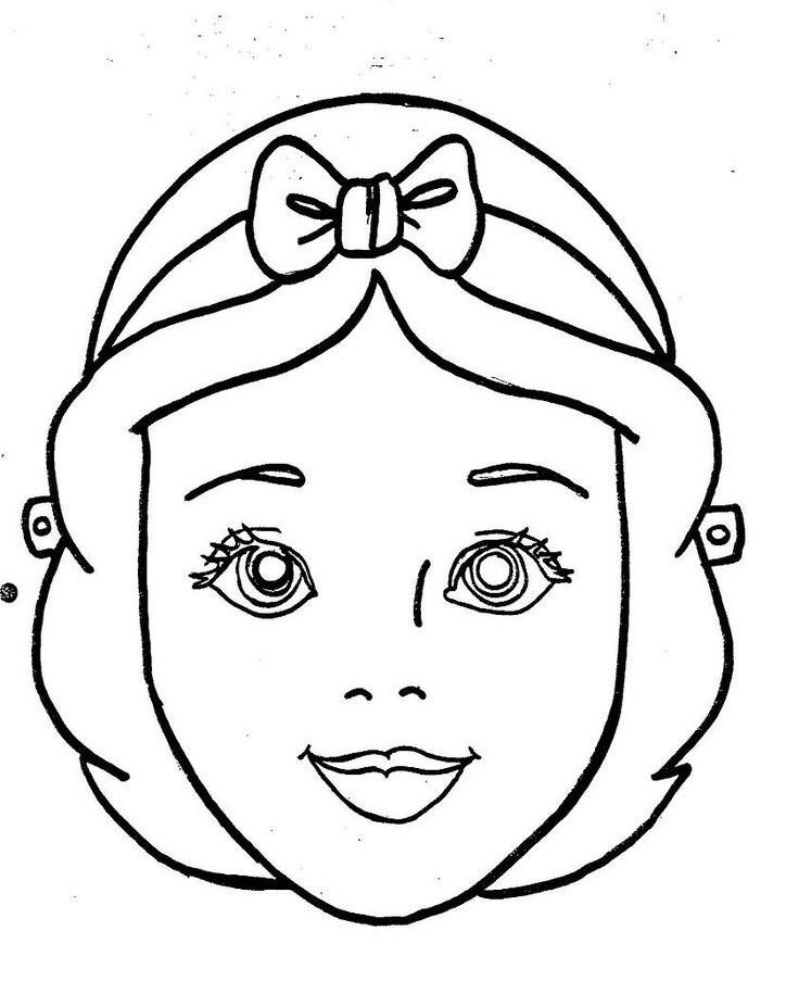 Rostros de princesas de Disney para colorear - Imagui