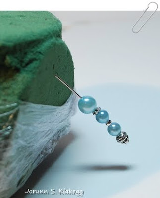 Head pins with pearls  6