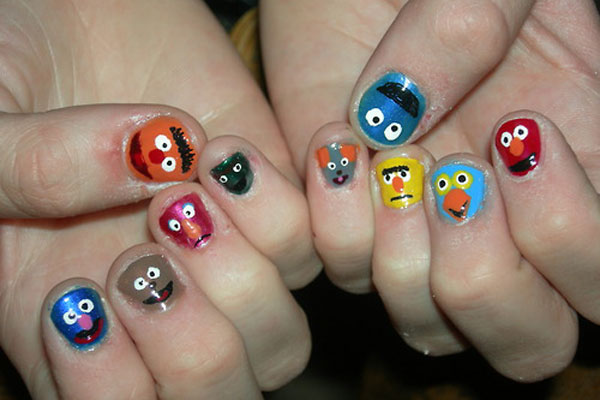 Crazy Nail Art 2012 Part 1 Love And Quotes