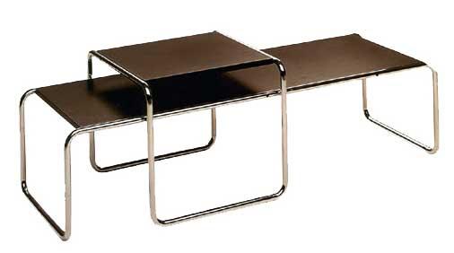 Mobiliario referente al estilo sillas mesas la bauhaus for Mobiliario moderno