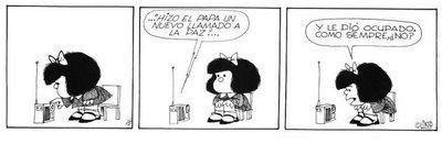 Resultado de imagen para mafalda paz