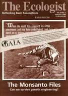Los Archivos de Monsanto (hace ya ...)