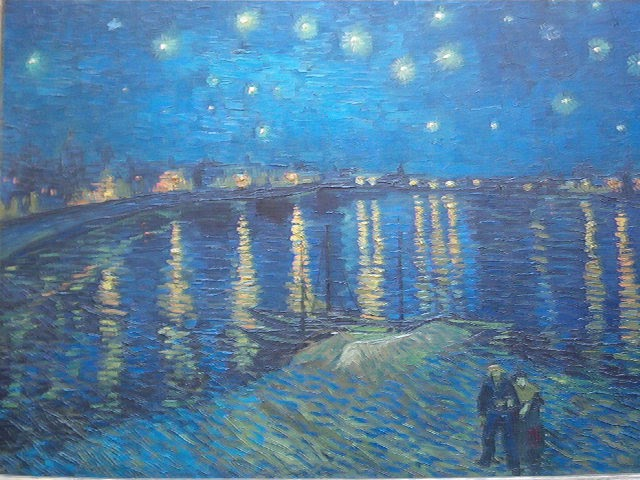 Impressionistic Blue Painting