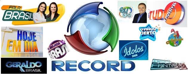 REDE RECORD TV DE PRIMEIRA