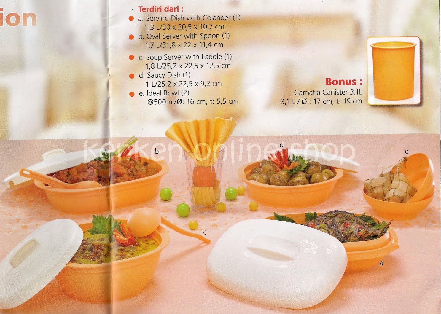 jual tupperware