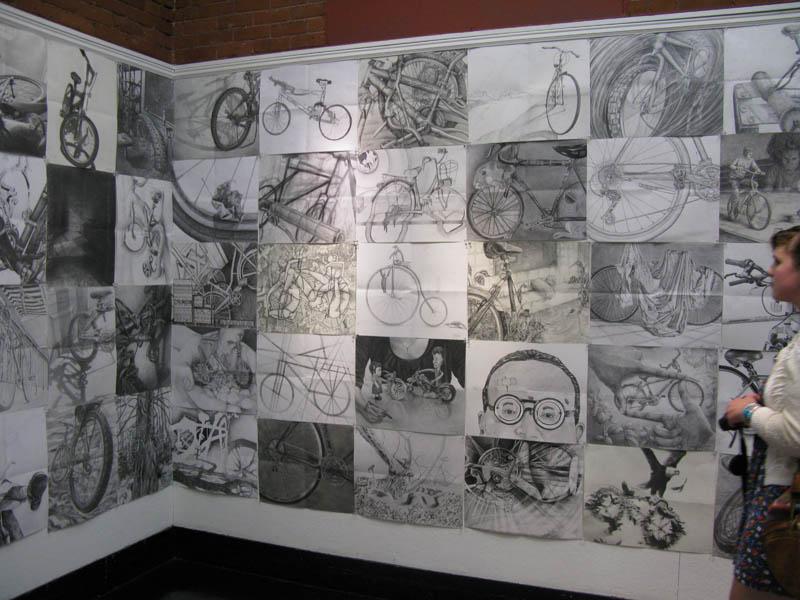 Mikey Risd Bike Drawings