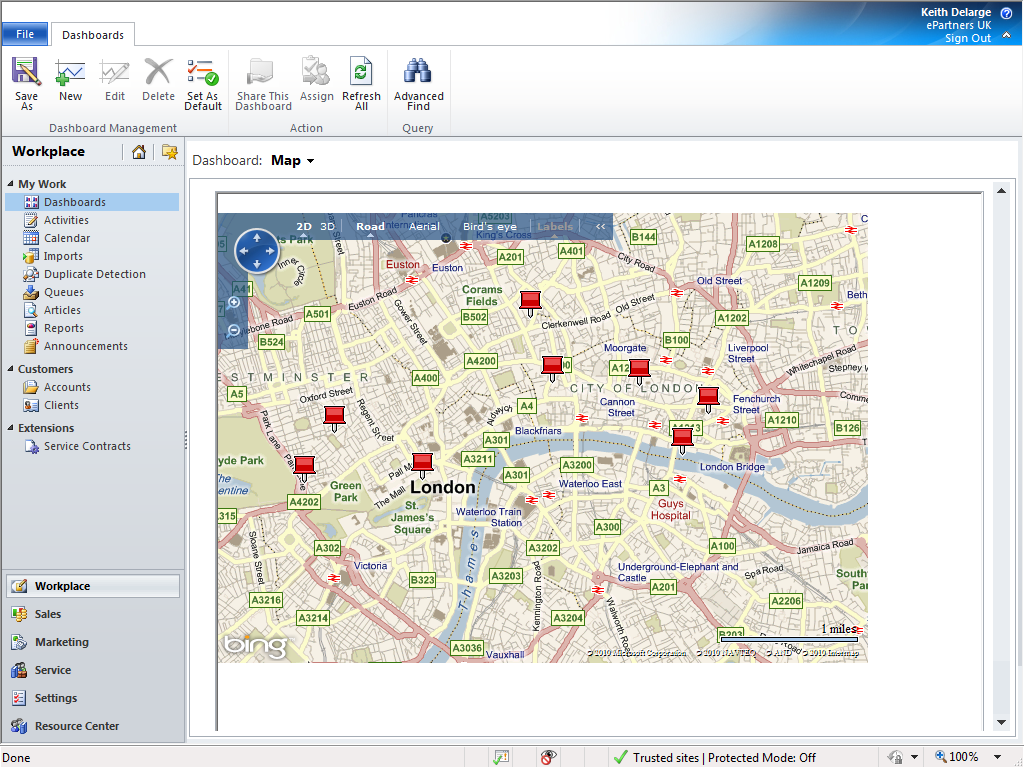 Microsoft Dynamics CRM 2011 Blog Microsoft Dynamics CRM 2011 – Map Bing Maps
