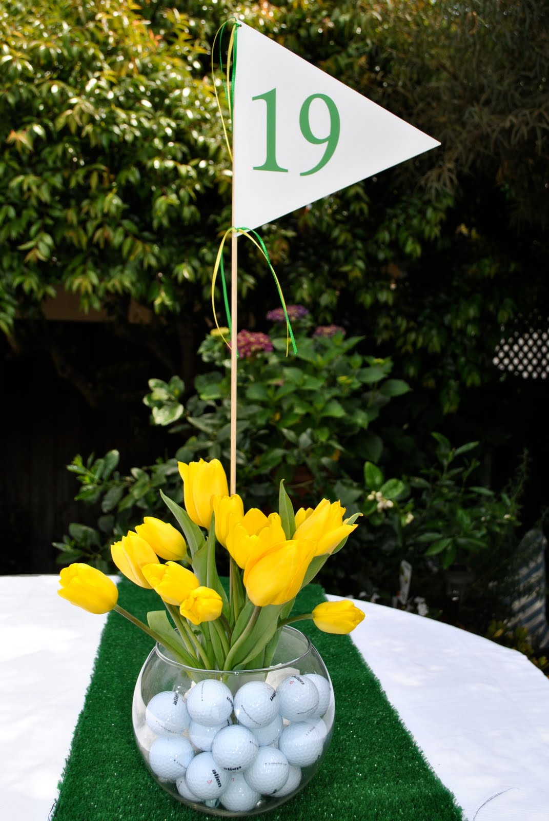 jac o 39 lyn murphy happy fore tee ForGolf Centerpiece Ideas