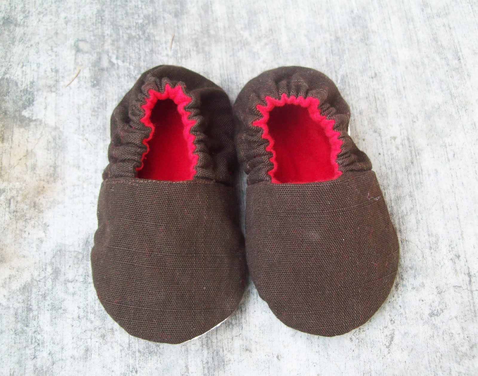 Running With Scissors Baby Shoe Pattern Available
