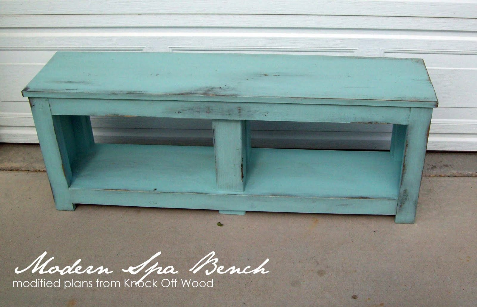 Running With Scissors Entry Bench