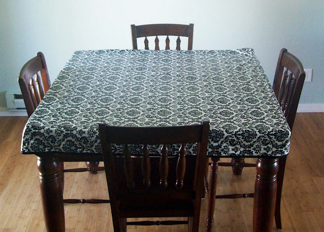 Crafts For Home Fitted Simple Tablecloth Sewing Pattern