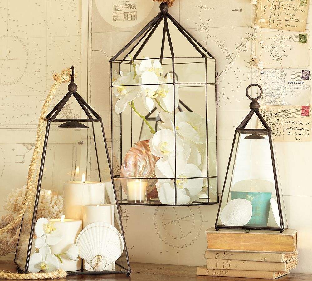 running with scissors decor lantern