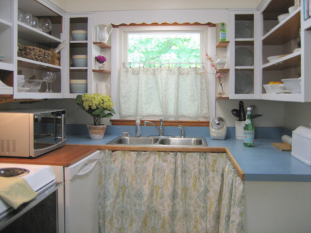 kitchen before after