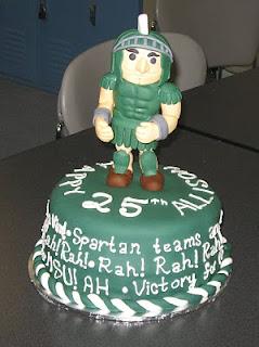 Sweet Cakes Dc Msu Birthday Cake
