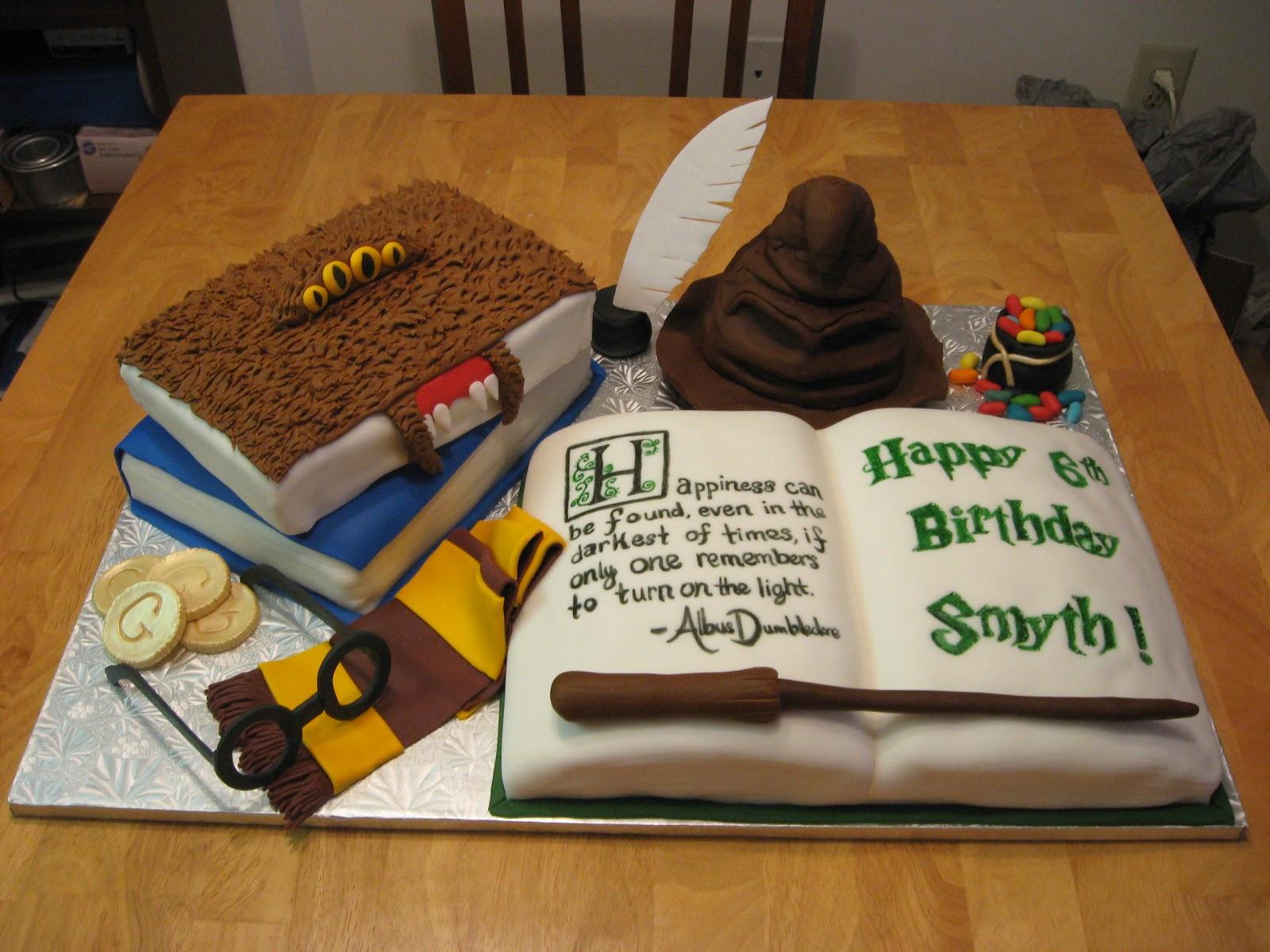 Cake Harry Potter Tumblr : Sweet Cakes DC: Harry Potter Cake