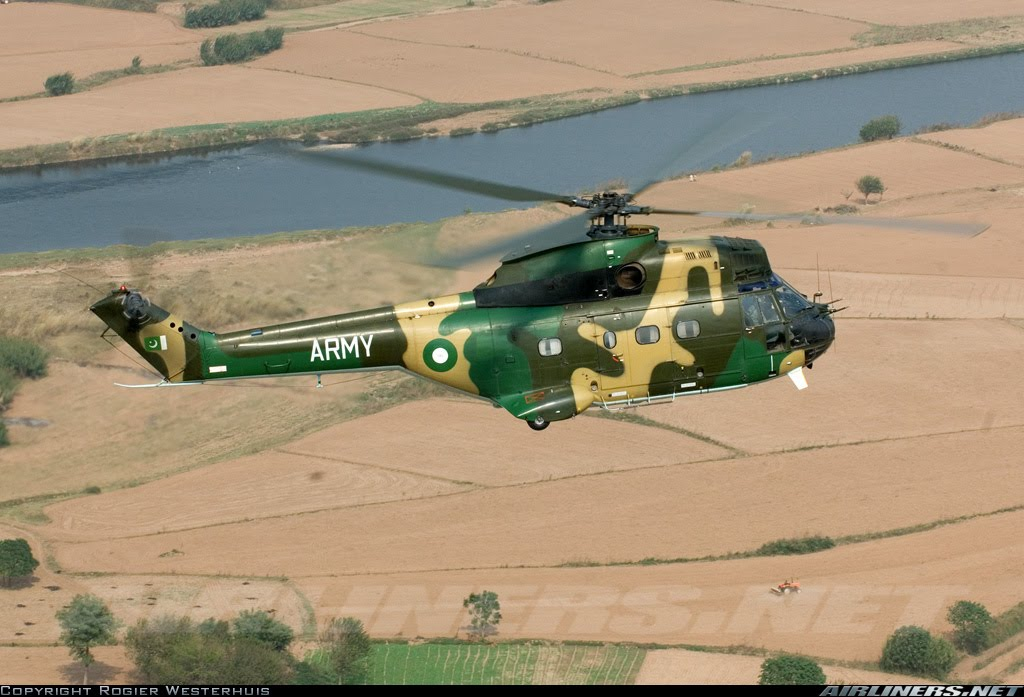 Pakistan Army Aviation Helicopters