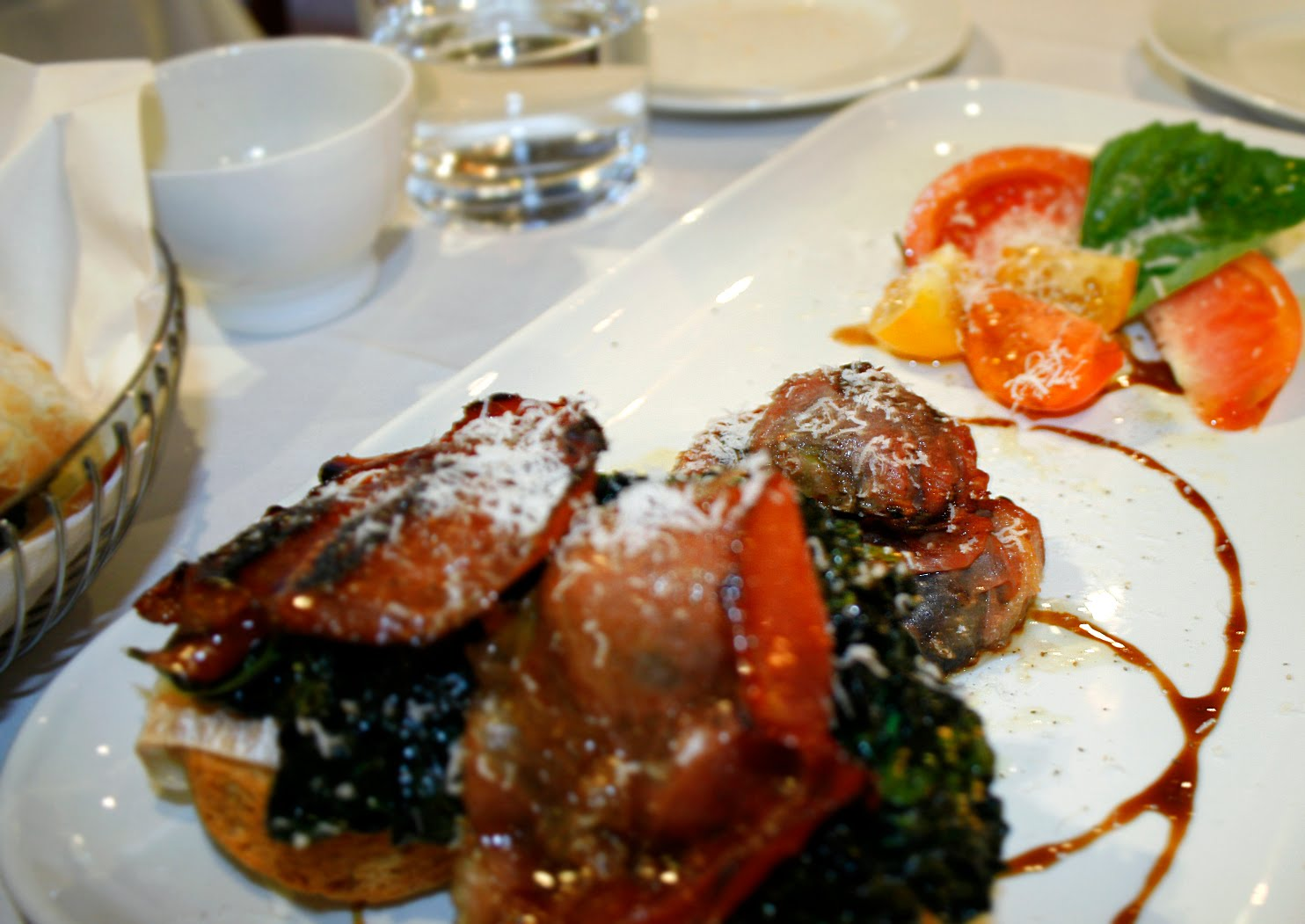 Gorgonzola And Leek Creme Brulee Recipe — Dishmaps