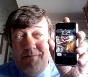 Stephen Fry writes a blog