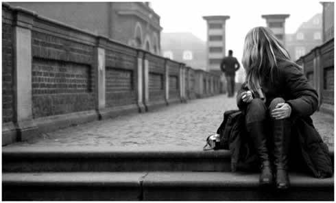 Girl Walking Away From