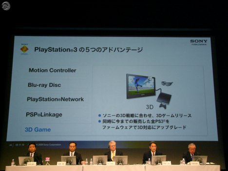 PS3 Gets 3D Glasses Support in Free Firmware Update