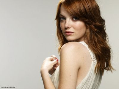 emma stone hair color. emma stone red hair color.