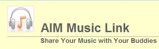 aim musiclink is software you can download to use with aim