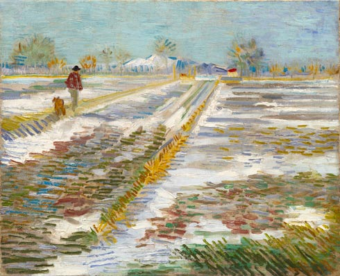Landscape with Snow (1888)
