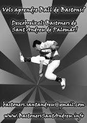 Cartell provisional de la Bastonera de St. Andreu