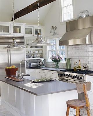Rooms bloom kitchen renos and organization - Elle decor kitchens ...