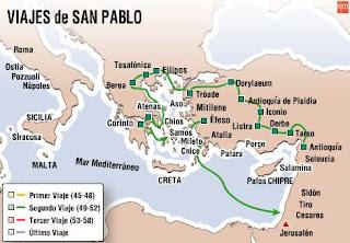 Religi n en la escuela viajes de san pablo for Cuarto viaje de san pablo