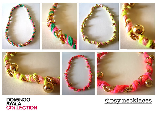 GIPSY NECKLACES Domingo Ayala Handmade