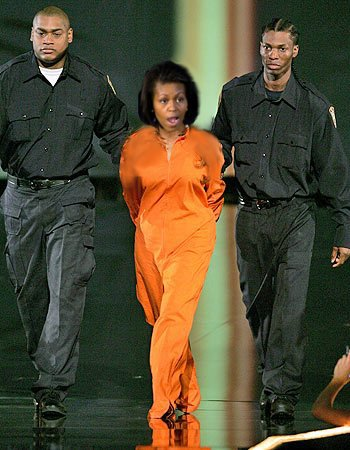 Michelle Obama arrested