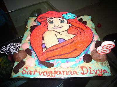SIMPLY DELICIOUS CAKES: ARIAL THE MERMAID
