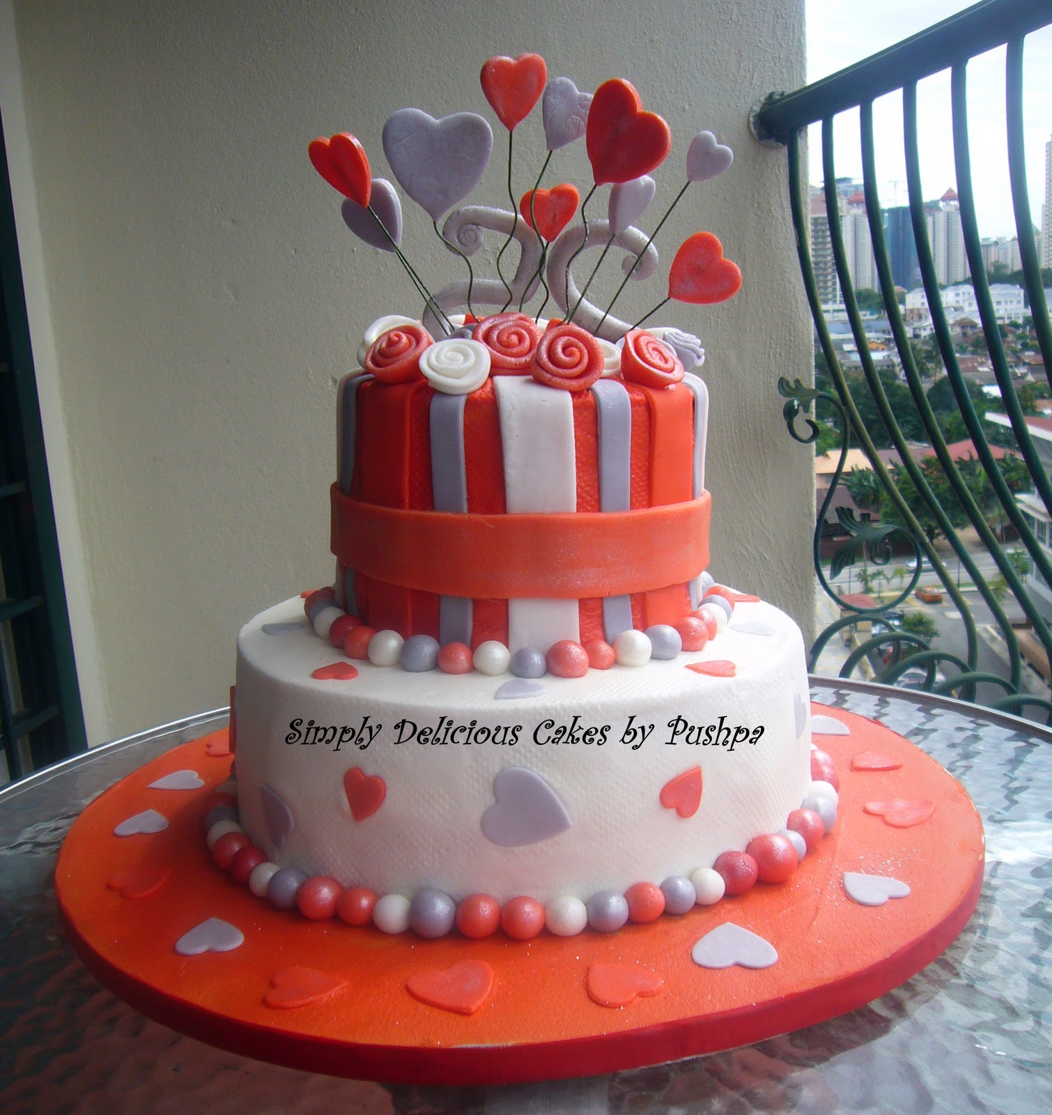 SIMPLY DELICIOUS CAKES Silver Jubilee Anniversary