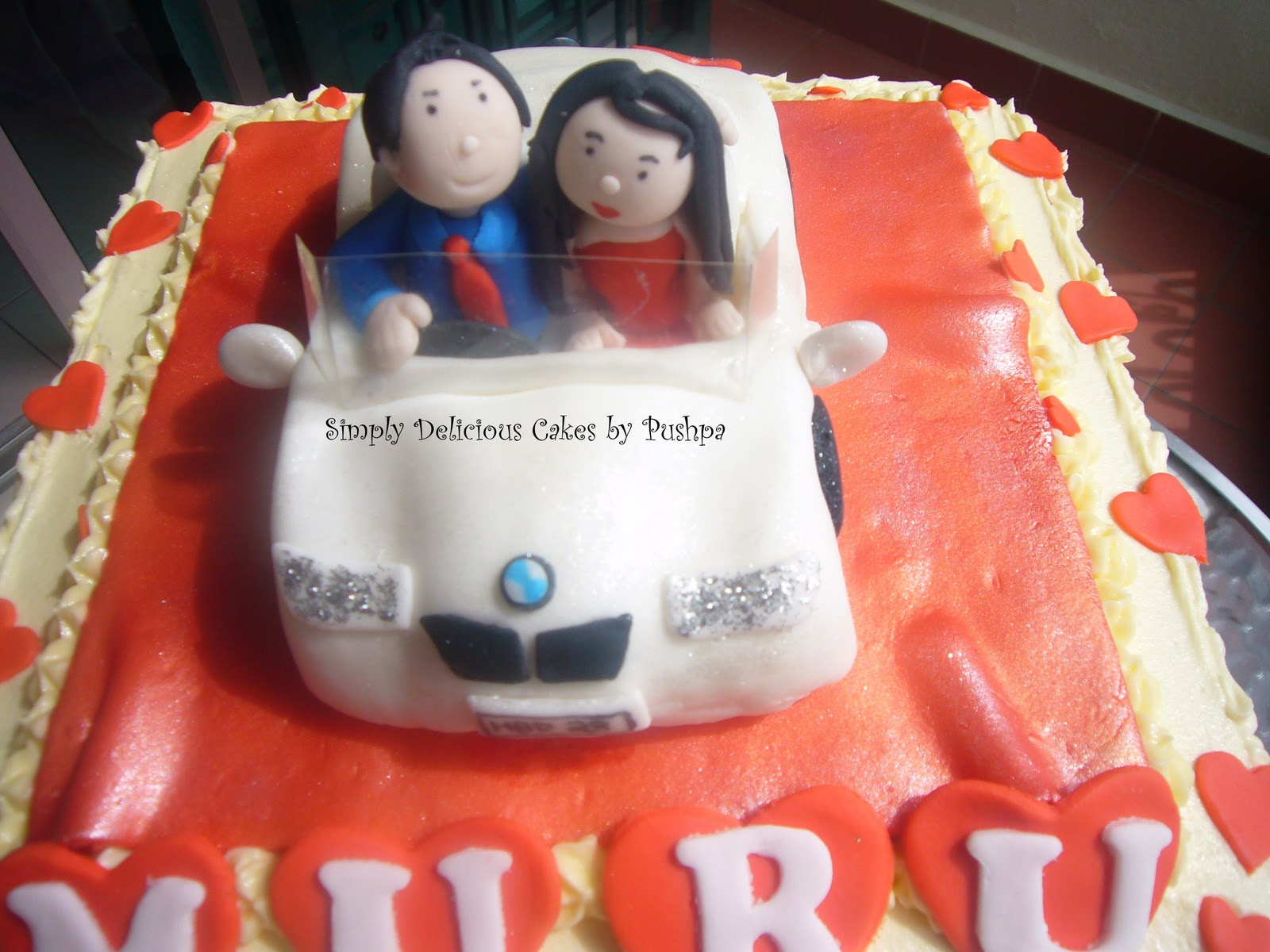 SIMPLY DELICIOUS CAKES BMW Birthday Cake