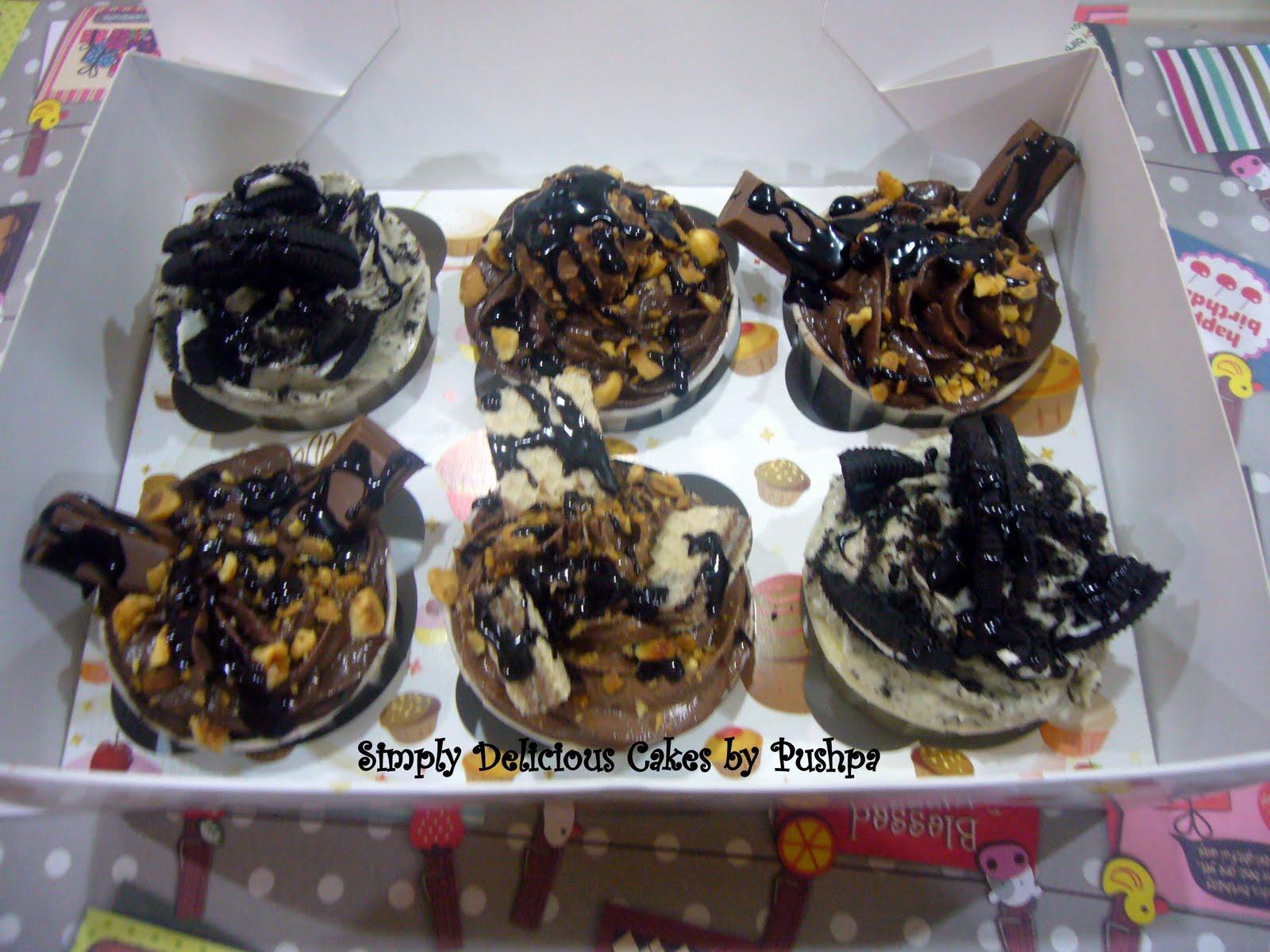 Indulgence Cupcakes