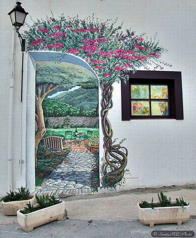 Awesome Wall Illusions l Beautiful Wall Painting