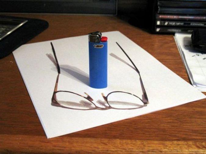 Как сделать 3d на бумаге